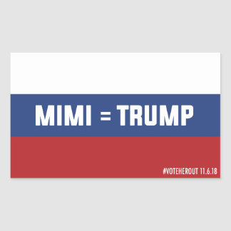Mimi = Trump Russian Flag Sticker