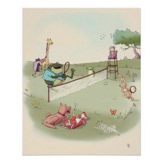 MiMi Ventures - Anyone For Tennis Canvas Print