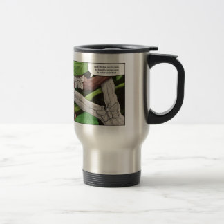 mimicry butterflies and chameleon travel mug