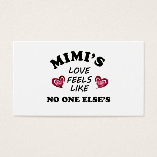 Mimi's Love Business Card