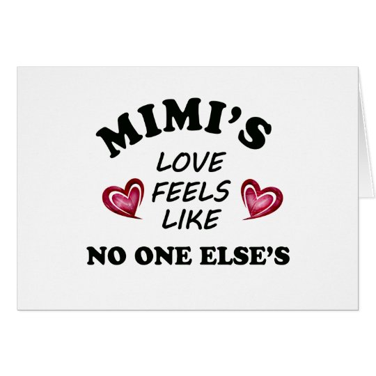 Mimi's Love Card