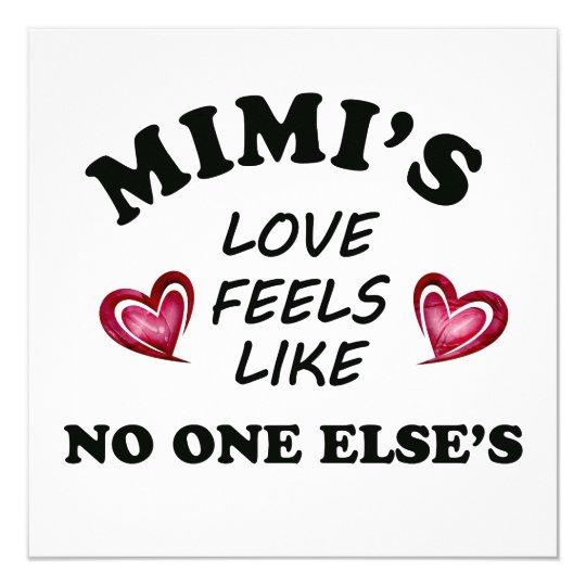 Mimi's Love Card