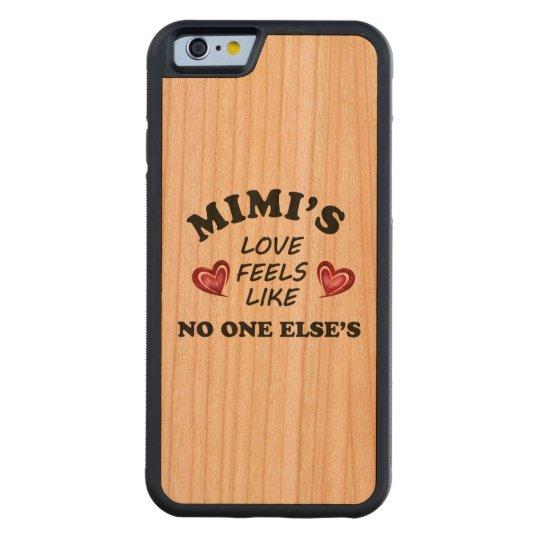Mimi's Love Carved Cherry iPhone 6 Bumper Case