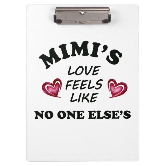 Mimi's Love Clipboard