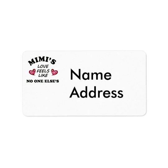 Mimi's Love Label