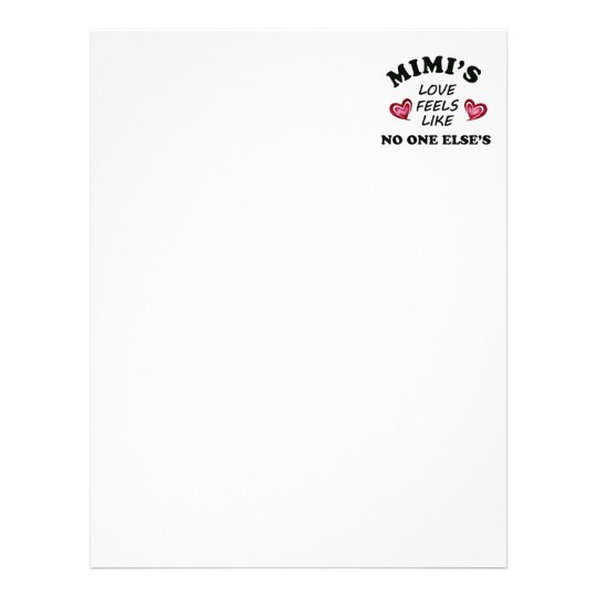 Mimi's Love Letterhead