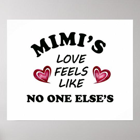 Mimi's Love Poster
