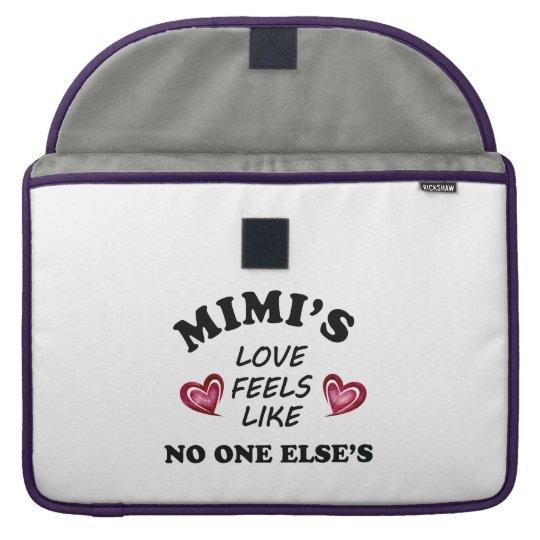 Mimi's Love Sleeve For MacBook Pro