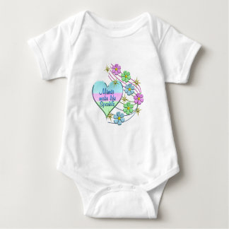 Mimis Make Life Sparkle Baby Bodysuit