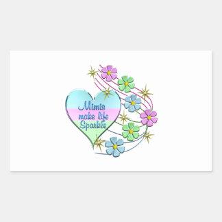 Mimis Make Life Sparkle Sticker