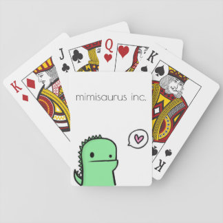 mimisaurus inc. playing cards