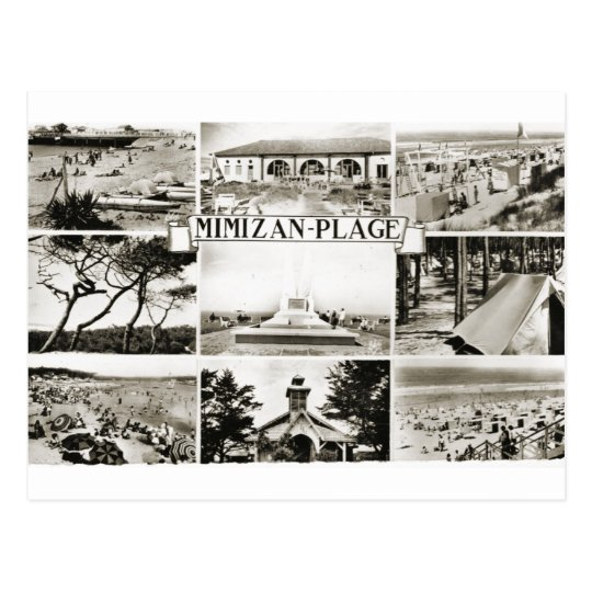 Mimizan Plage Postcard