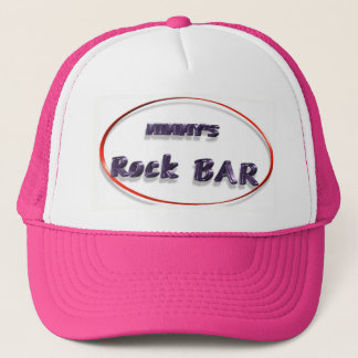 Mimmy's skirt bar trucker hat