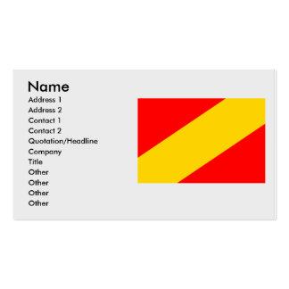 Mimon, Czech Double-Sided Standard Business Cards (Pack Of 100)