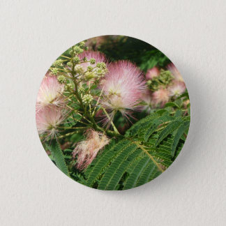 mimosa  blooming 2010 2 inch round button