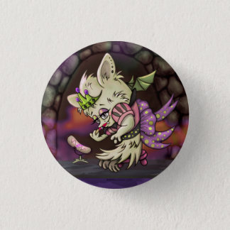 MIMOSA LITTLE BAT HALLOWEEN SMALL BUTTON