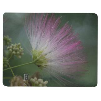 Mimosa Tree Pink Wildflower Floral Pocket Journal
