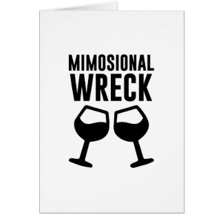 Mimosional Wreck Card
