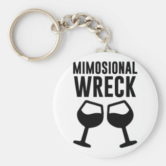 Mimosional Wreck Keychain