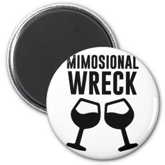 Mimosional Wreck Magnet