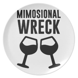 Mimosional Wreck Plate