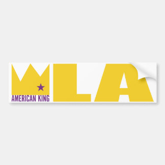 MIMS Bumper Sticker - American King of L.A.