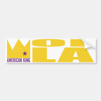 MIMS Bumper Sticker - American King of L A