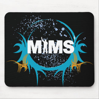 MIMS Button - MIMS Logo Framed - Exclusive Mouse Mats