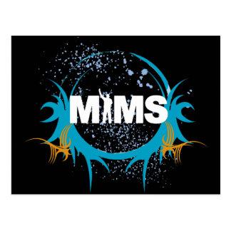 MIMS Postcard - Splatter - Exclusive