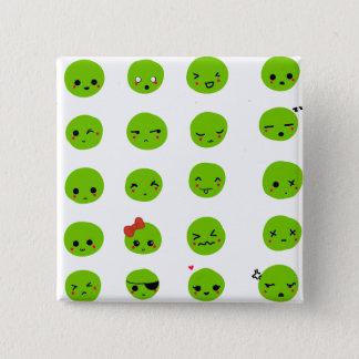mimu emoticon set - button badge