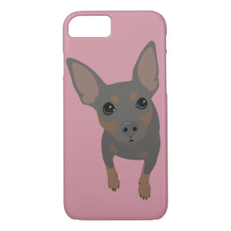 Min Pin (Blue) Smartphone 7 Plus iPhone Case