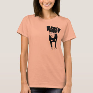 Min Pin (In My Heart) Basic T-shirt no.2