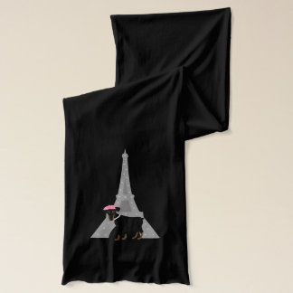 Min Pin in Paris Scarf