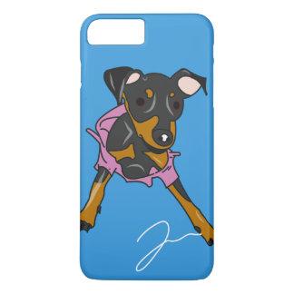 Min Pin in Trouble iPhone 7 Plus Case