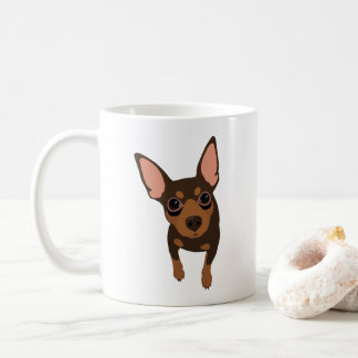 Min Pin Lover Classic Coffee Mug (Chocolate)