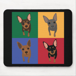 Min Pin Lover Mousepad