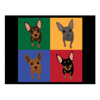 Min Pin POP Art Postcard