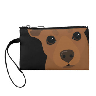 Min Pin Red Miniature Pinscher Key Coin Clutch