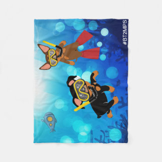 Min Pin Scuba Diving Under the Sea Blanket