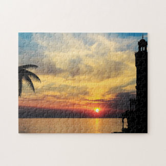 Minaret at Dusk Jigsaw Puzzle
