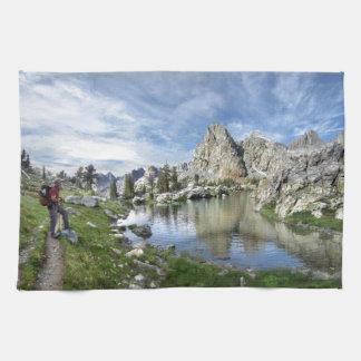 Minaret Lake - Ansel Adams Wilderness - Sierra Hand Towel