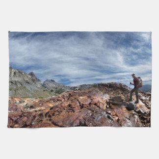 Minarets - Ansel Adams Wilderness - Sierra Nevada Hand Towel