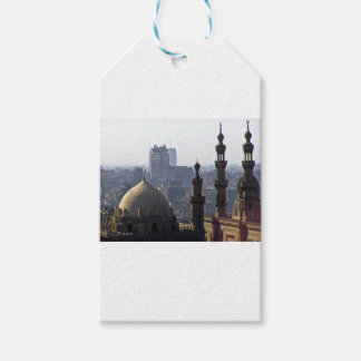 Minarets view of Sultan Ali mosque Cairo Gift Tags