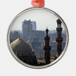 Minarets view of Sultan Ali mosque Cairo Metal Ornament