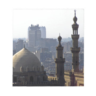 Minarets view of Sultan Ali mosque Cairo Notepads