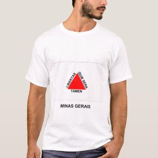 Minas Gerais, Brazil Flag T-Shirt