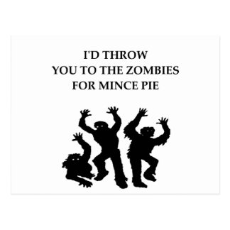 MINCE pie Postcard