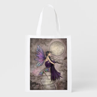 Mind Adrift Fairy Fantasy Art Reusable Grocery Bag