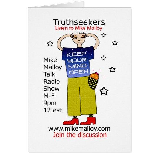 MIND BENDING TRUTHSEEKERS CARD
