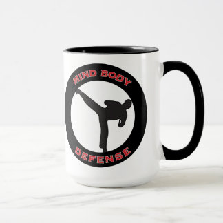 Mind Body Defense Mug White
